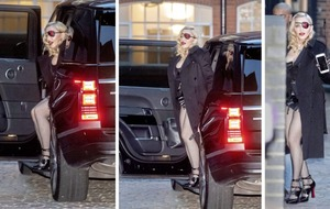 Sleb Safari: Madonna - soccer mom by day, Madame X by night
