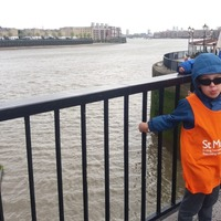 Brothers aged eight and six walk London Marathon route in 13 hours for charity