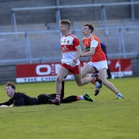 Derry minors deservedly defeat defensive Armagh in wind-affected contest