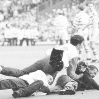 Back in the day - Violence flares as Rangers lift title: Old Firm clash boils over - The Irish News, May 2 1999