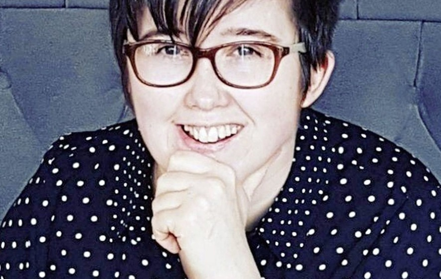 Sing for Peace rally in Derry in memory of Lyra McKee - The