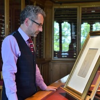 Sketch of bearded man 'identified as Leonardo da Vinci'