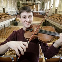 Precious violin presented to new Ulster Youth Orchestra leader