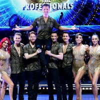 Pasha held aloft ahead of Strictly professionals tour