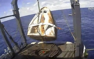 SpaceX confirms crew capsule destroyed in ground test