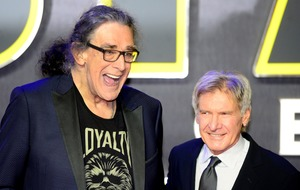 Mark Hamill and Harrison Ford lead tributes to Star Wars actor Peter Mayhew