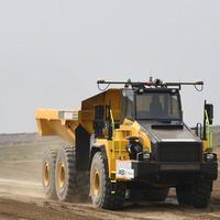 Self-driving dumper truck trialled in bid to speed up roadworks