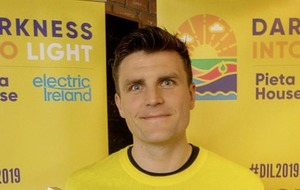 Darkness Into Light ambassador Diarmuid O'Carroll on what keeps him match fit