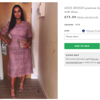 Woman whose dress was insulted on Tinder becomes ASOS 'model'