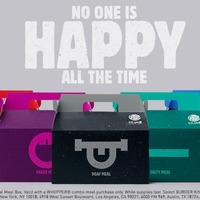 Burger King offers range of mood meals because 'no one is happy all the time'