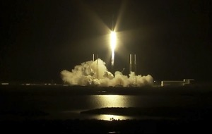 SpaceX launches supplies to International Space Station after power delays