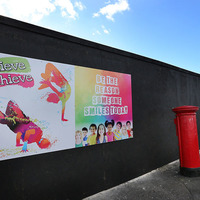 New IRA slogans in Derry painted over with community artwork