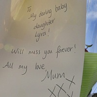 Lyra McKee's family leave emotional messages at murder scene