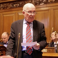 Veteran unionist Jim Rodgers loses party whip over 'IRA' election leaflets