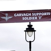 Police urged to investigate banner supporting Bloody Sunday Soldier F as hate crime