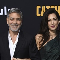 George and Amal Clooney switch on the glamour at premiere