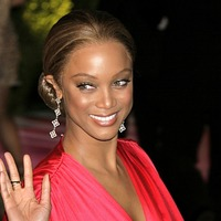 Tyra Banks on the cover of Sports Illustrated Swimsuit issue at 45