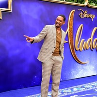 Will Smith reveals stress of following Robin Williams as Aladdin's Genie