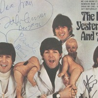 Rare Beatles record owned by John Lennon sells at auction for £180,000