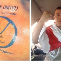 Leeds fan gets '2019 playoff winners' tattooed on himself ahead of Derby clash