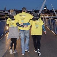 Thousands across Ireland walk from Darkness Into Light