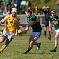 Antrim hurlers produce the goods to slay Kerry in Joe McDonagh opener