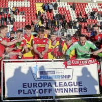 Cliftonville drawn against Welsh side Barry Town in Europa League Preliminary Round