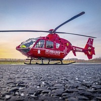 Air ambulance called after man falls from height at North West 200