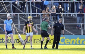 "Kilkenny hurling boss Brian Cody confronts Dublin selector who intercepted his team's free in ""completely bizarre"" incident"