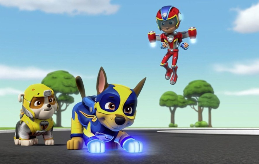 PAW Patrol: Mighty Pups is light on plot but kids won't care