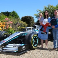 Mercedes send F1 car to home of terminally ill boy who inspired Hamilton