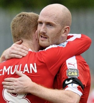 Ryan Catney - a Cliftonville foot soldier