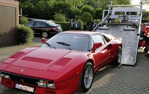 Ferrari once owned by Eddie Irvine stolen in Germany