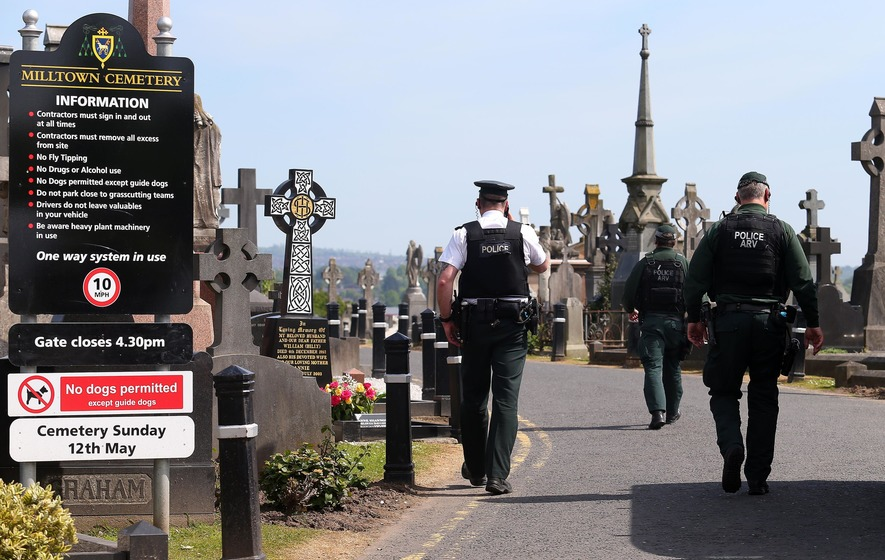 Paramedics called to 'serious incident' at Milltown Cemetery - The