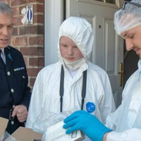 Teenager with love of forensics becomes crime scene investigator for the day