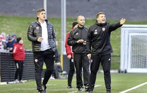 Derry City boss Declan Devine: Hectic schedule for team but it brings opportunities for players