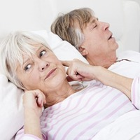 Electric 'zap' on the leg to ease heavy snoring