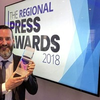 Irish News honoured at Regional Press Awards in London
