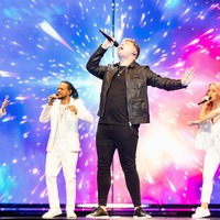 Michael Rice flies flag for UK at Eurovision grand final