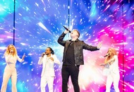 Michael Rice gives his all during impassioned Eurovision performance