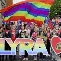 Murdered journalist Lyra McKee's partner calls for same-sex marriage at Belfast rally