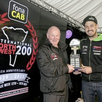 Glenn Irwin and James Hillier shine at rain-soaked North West