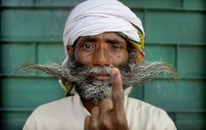 Indians vote in final phase of national elections after six-week-long gruelling campaign