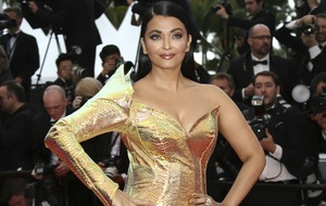 Aishwarya Rai Bachchan dazzles in gold on Cannes red carpet