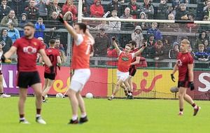 Late Andrew Murnin goal sees Armagh end Ulster hoodoo with victory over Down
