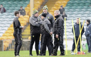 Paul McGonigle says Donegal are keeping their focus ahead of Fermanagh clash