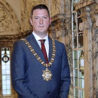 'Judge me with an open mind,' urges Belfast's new Sinn Féin mayor John Finucane