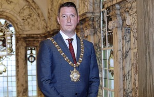 `Judge me with an open mind,' urges Belfast's new Sinn Féin mayor John Finucane