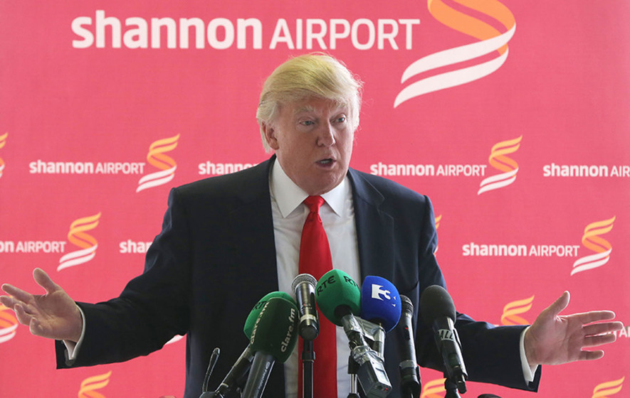 White House officially confirms details of Donald Trump's trip to Ireland
