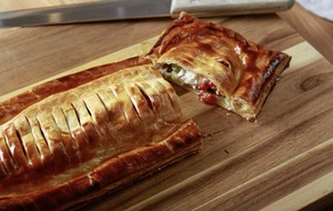 James Street Cookery School: Vegetable sausage roll, Chorizo and ricotta lasagne